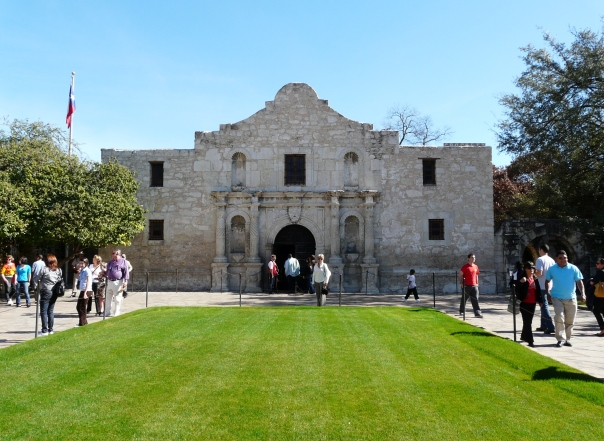 "You must know where this is! Unless of course you are not American and so I'll tell you. It's the Alamo. ""Remember the Alamo!"" Davy Crockett. Any the wiser? It's a long story. You'll have to Google  The Alamo if you are interested. The restaurant at the top of the blog is in San Antonio, Texas as is the Alamo."