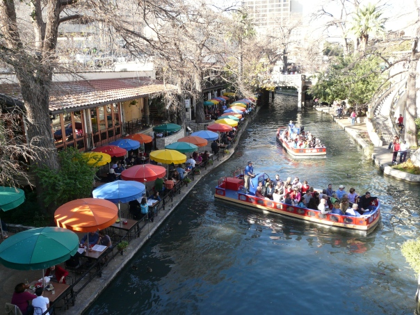 Casa Rio Restaurant on the San Antonio River Walk (Paseo del Río)