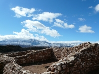 A cold room at Tuzigoot.
