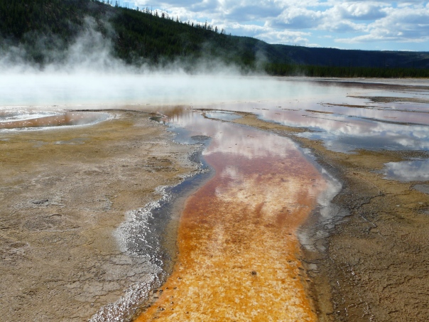 Yellowstone National Park, Grand Prismatic Spring