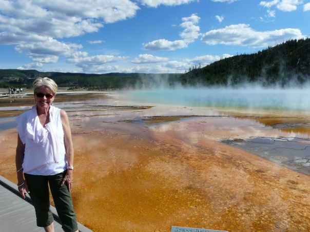 Grand Prismatic Spring, Yellowstone National Park, Grand Prismatic Spring