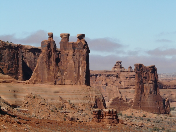 Arches National Park, The Three Gossips