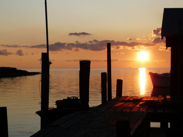 Sunset on Pamlico Sound, Outer Banks, NC