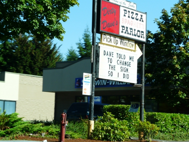 Dirty Dave's Pizza Parlor, Lacey WA