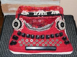Fancy a crocheted typewriter?