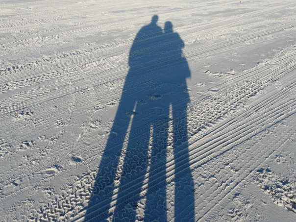 Telling time by our shadows