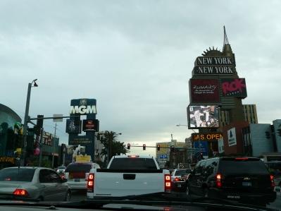 Traffic on the Strip, Las Vegas NV
