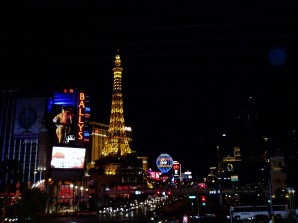 "Las Vegas Strip and the ""Eiffel Tower"""