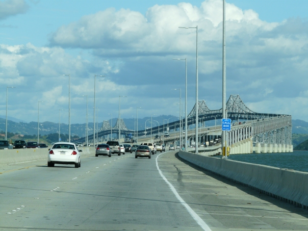 San Francisco-Oakland Bay Bridge. This is the right one!