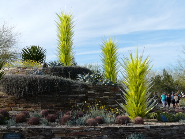 Chihuly in the Garden Exhibition