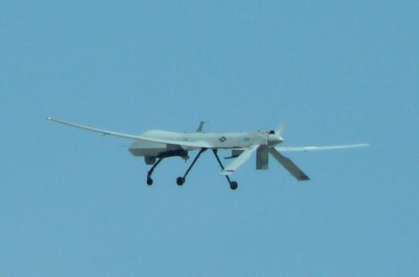Drone over Nevada
