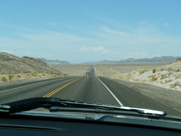 Lonely Nevada road