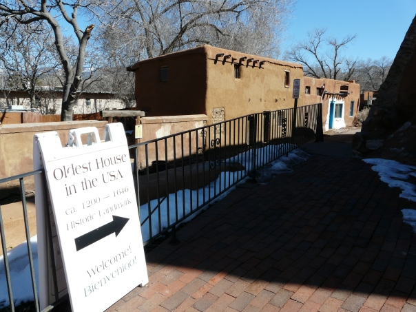 Santa Fe NM, Oldest House in the USA