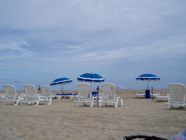 French Mediterranean beach