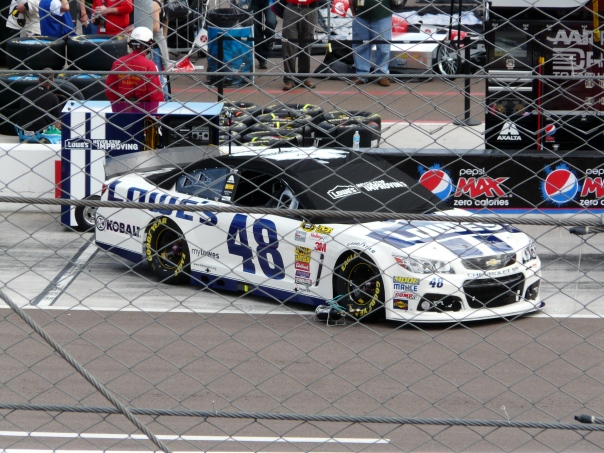 Jimmie Johnson's car