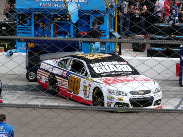 Dale Earnhardt, Jr.'s car
