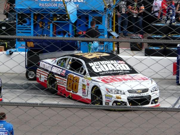Dale Earnhardt, Jr.'s car