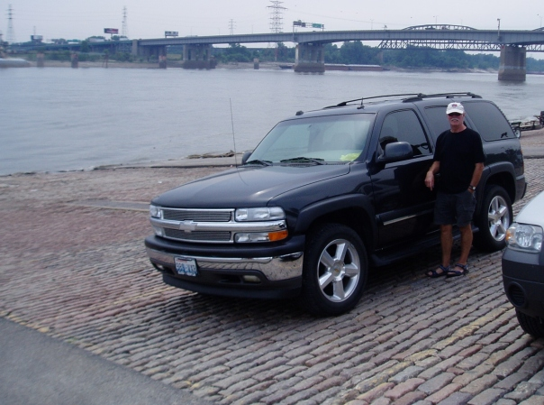 Chevy on the levee, St. Louis MO