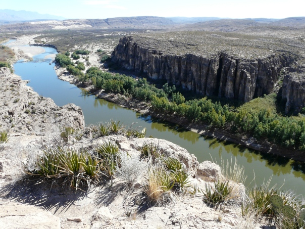 Rio Grande River at Big Bend National Park