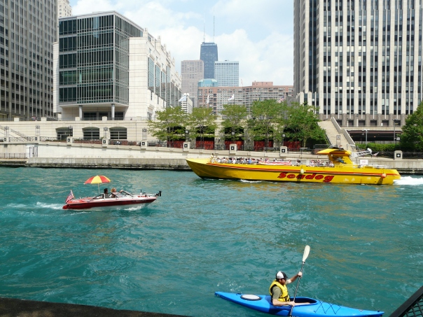 Chicago River in Chicago