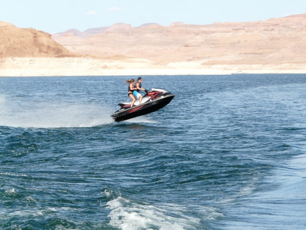 Jetski, Lake Powell, Utah, Arizona
