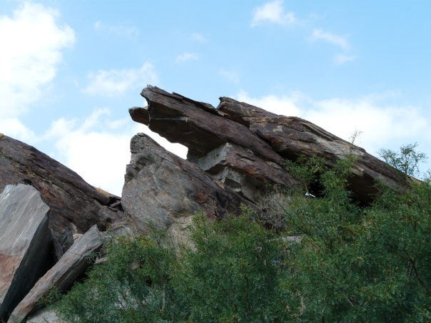 The Lion King rock in Indian Canyon, Palm Springs