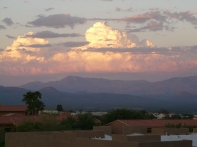 Cloud formation, Fountain Hills AZ