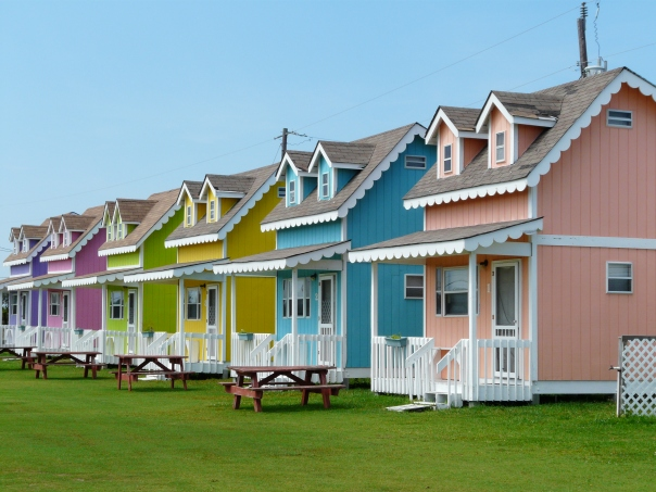 Summer cottages on the Outer Banks