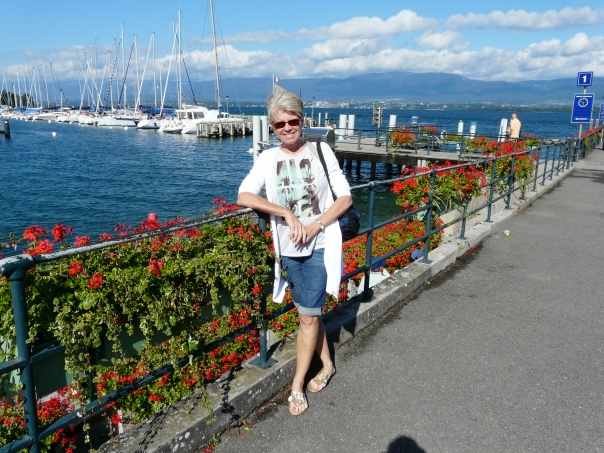 'Aloha' from Lake Geneva