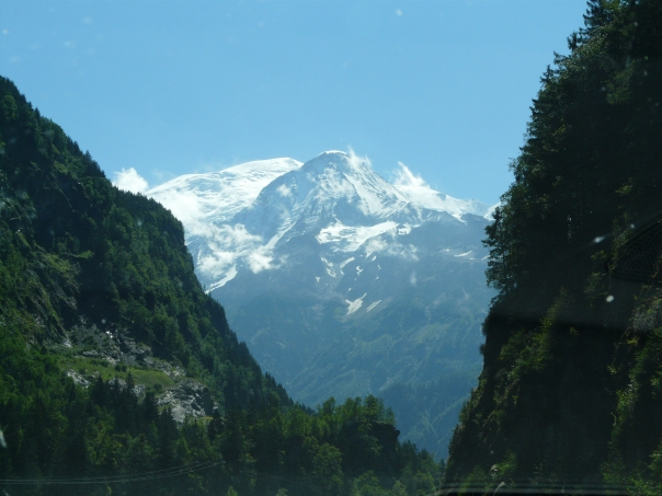 Mt. Blanc! Good heavens! Who put that there?
