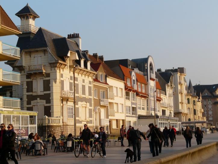 Wimereux promenade, France