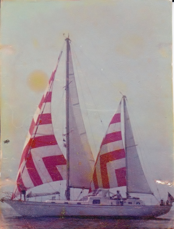 'Nightwind' Glass Clipper, Caribbean