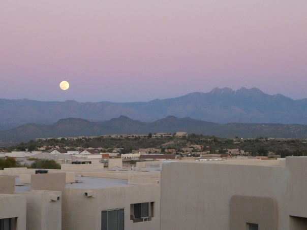 Moonrise, Four Peaks, Fountain Hills, AZ