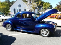 Vintage car show, Morgan Hill CA
