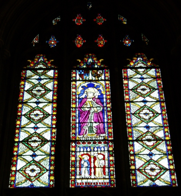 Canterbury Cathedral stained glass window